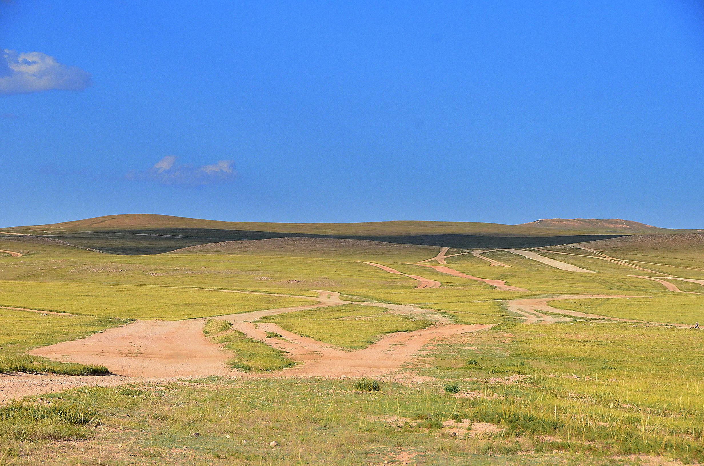 Mongol roads