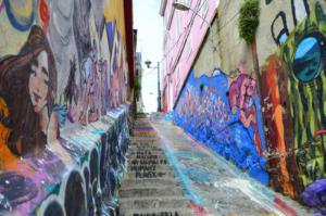 Valparaiso streets